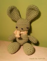 green buny by koonik