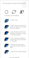 Eye Tutorial by OmenaApple by OmenaApple