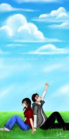 Because We Share The Same Sky. by revolver277