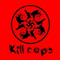 kill the nazi cops logo by scumdesigns