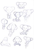Robotboy doodles1 by Carrie-Tempest