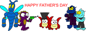 Skylanders Father's day by Blackrhinoranger
