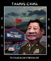 The Great Wall Mart by funkwood