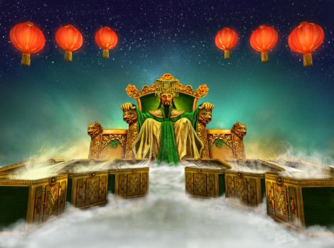 Jade emperor game - throne in the sky by crayonmaniac