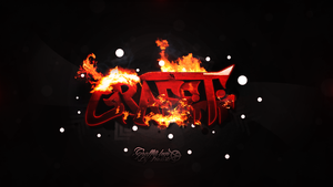 Graffiti creation 'In fire' by PearArts by PearArts