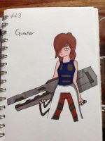 Day 3 - Gunner by Forced-enjoyment