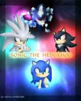 Sonic the Hedgehog Poster by Metal-Overlord