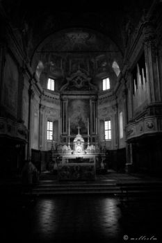 Bagolino Cathedral by mellcolm