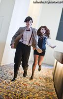 Always the Running. - Amy Pond by HelenaTears