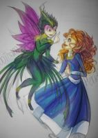 Tooth and Merida - Girls Talk by AelitaC