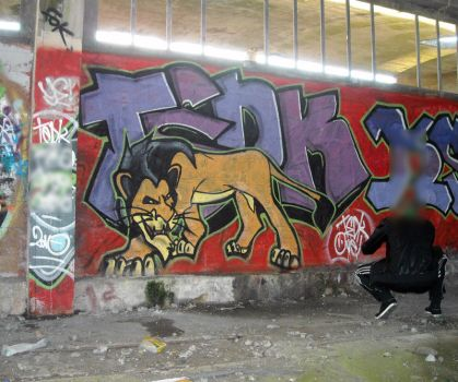 Scar and Tedk by dadouX