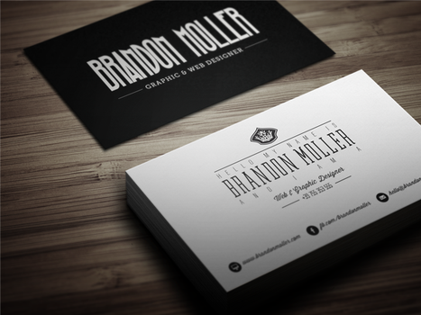 Creative Retro Business Card 3 by themeflava