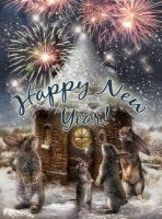 Happy New Year by CindysArt
