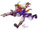 Jak and Daxter by Retromissile