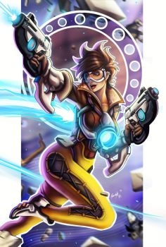 Tracer Overwatch by EdgarSandoval