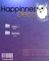 Skin deco  for XWidget ''Happines'' by JhoannaResources