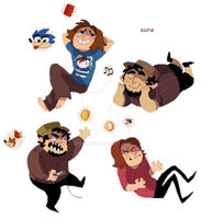 Game Grumps pixels by SIIINS