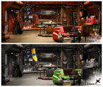 Red Dwarf X - Bunkroom Comparison by P2Pproductions