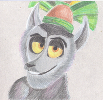 ..::King Julien::.. by Edness-Madness