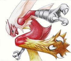 Blaziken (Pokemon) by irtixboy