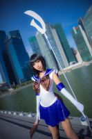 Sailor Moon Super S-Sailor Saturn by Mm-miyoko