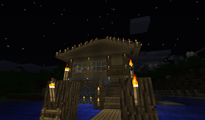 My Beach house, outside by JialBlood