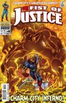 FIST OF JUSTICE 4 Cover colors by Cinar