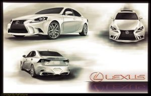 Lexus IS contest concept 2 by FelFortune