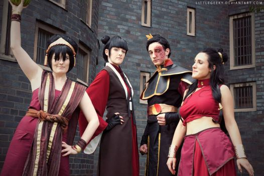 Everything changed when the Fire Nation attacked by LittleGeeky