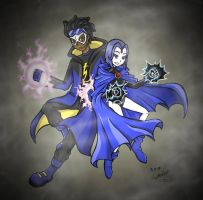 RQ_Static x Raven_TTG by StarlySpecter