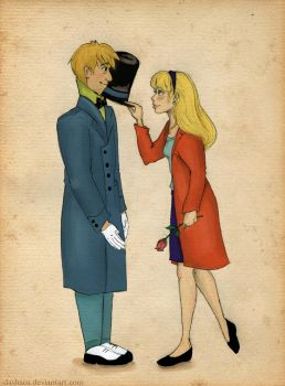 Alice x Jervis by BeyondThePines