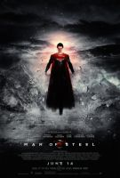 Man of Steel Poster 4 Grey by visuasys