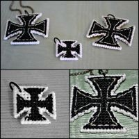 Iron/Prussian Cross Charms by RockBabi-TheSequel