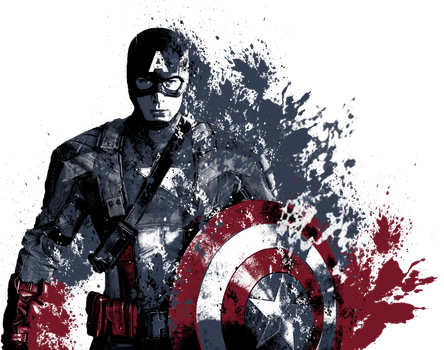 Captain America by alan-cooper