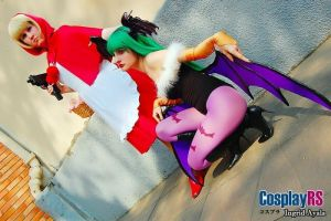 Darkstalkers ~ Cosplay by DeboraTeach