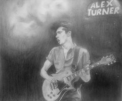 Alex Turner by DaniCruzita