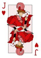 Lolita Deck- Jack of Hearts by sadwonderland