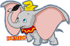 Dumbo by RavenEvert