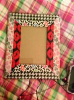 DIY Duct Tape Frame by AgentBabycakes