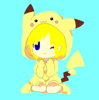 Taylor as a Pikachu~ {Base By Michy123-d5y6h} by melubsart