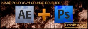 MAKE YOUR OWN GRUNGE BRUSHES 1 by brandmystyle