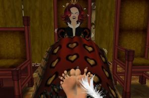 Q-City Halloween--Sheila as The Queen of Hearts by sahrkastik