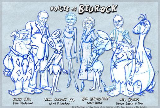 Voices Of BedRock rough sketch by osmosis430