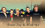 Green Day+Blink-182 Wallpaper by idiot-america