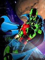 Martian Manhunter by Kenpudiosaki
