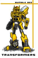 Transformers Bumble Bee by JC-790514