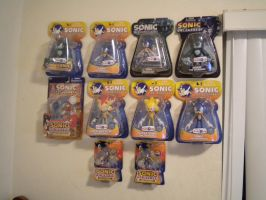 Jazwares Sonic Figures by Fuzon-S