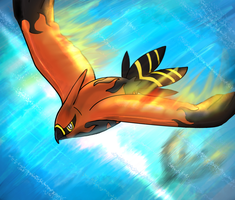 Talonflame by Dr-Platinum
