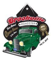 Brookville Roadster Sign by ADOlson