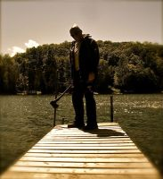 The Man at the Lake by Jovial-Jack